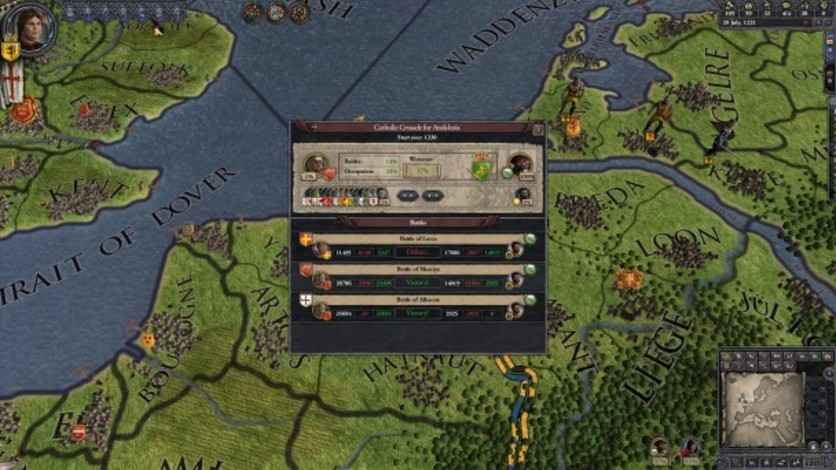 Screenshot 1 - Crusader Kings II: Hymns of Abraham
