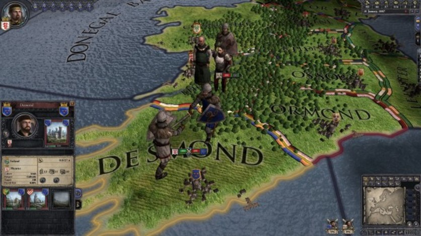 Screenshot 5 - Crusader Kings II: Celtic Unit Pack