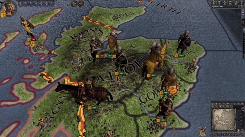 Screenshot 1 - Crusader Kings II: Celtic Unit Pack