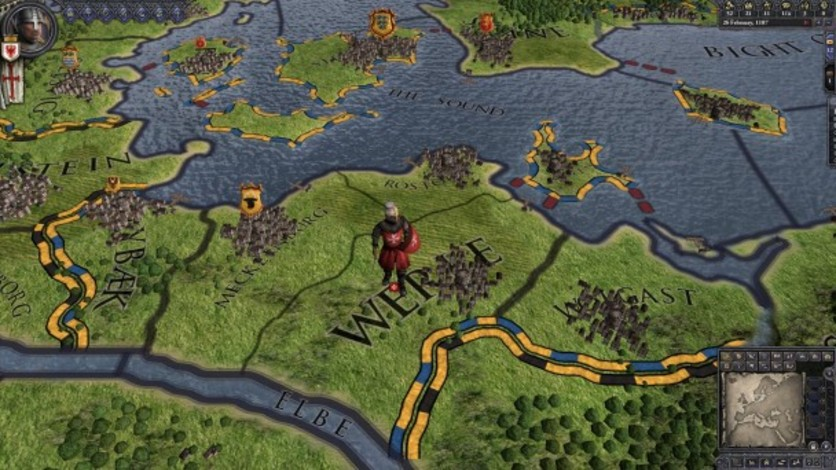 Screenshot 2 - Crusader Kings II: Military Orders Unit Pack