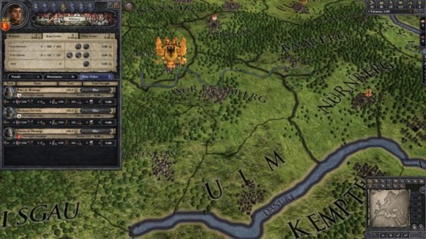 Screenshot 4 - Crusader Kings II: Military Orders Unit Pack