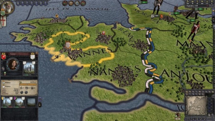 Screenshot 1 - Crusader Kings II: Military Orders Unit Pack