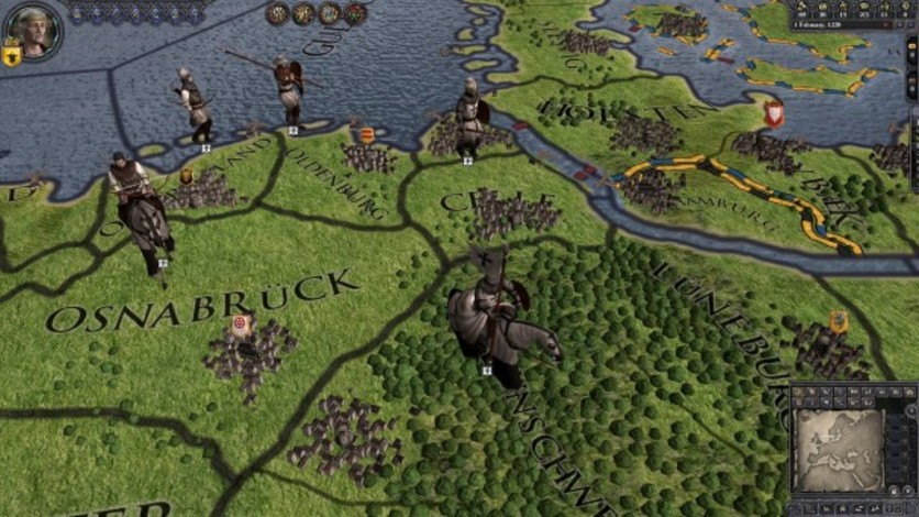 Screenshot 10 - Crusader Kings II: Military Orders Unit Pack