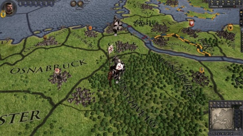 Screenshot 6 - Crusader Kings II: Military Orders Unit Pack