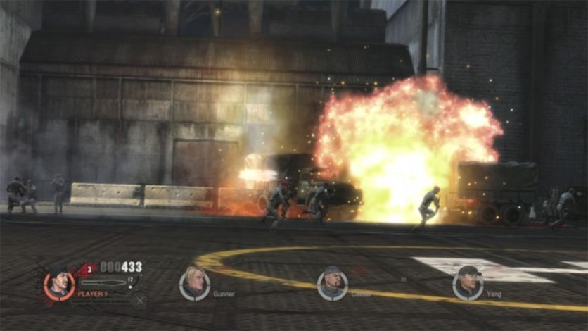 Screenshot 5 - The Expendables 2 Videogame