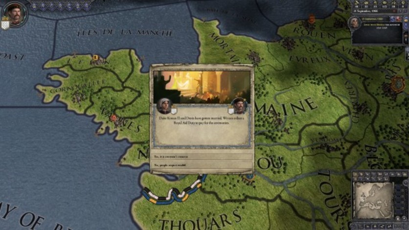 Screenshot 8 - Crusader Kings II: Celtic Portraits