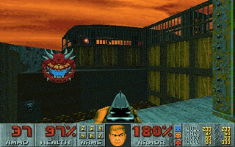 Screenshot 1 - Ultimate DOOM
