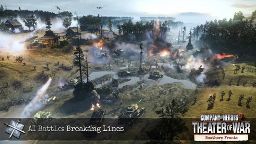 Screenshot 1 - Company of Heroes 2 - Southern Fronts