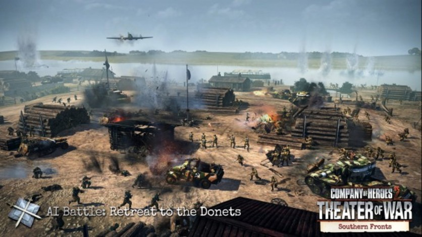 Screenshot 5 - Company of Heroes 2 - Southern Fronts