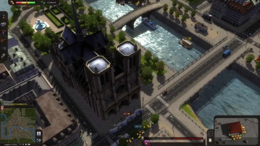 Screenshot 3 - Cities in Motion: Paris