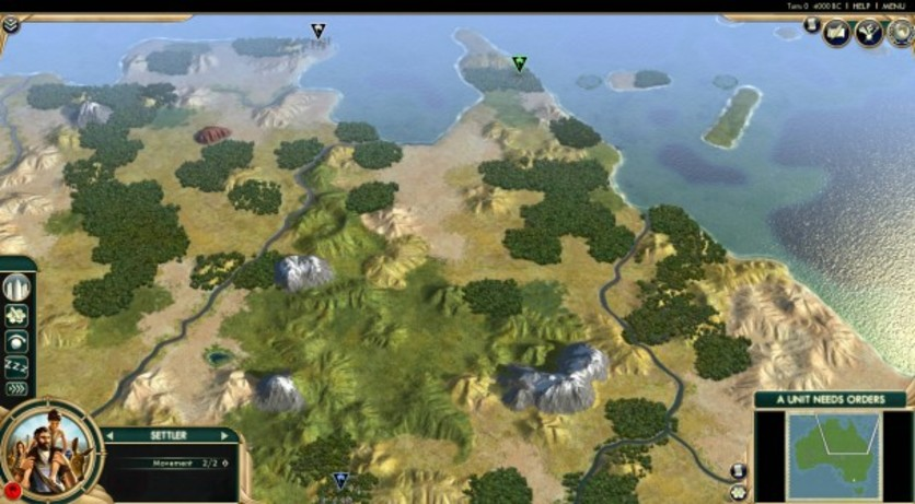 Screenshot 1 - Sid Meier's Civilization V: Scrambled Nations Map Pack