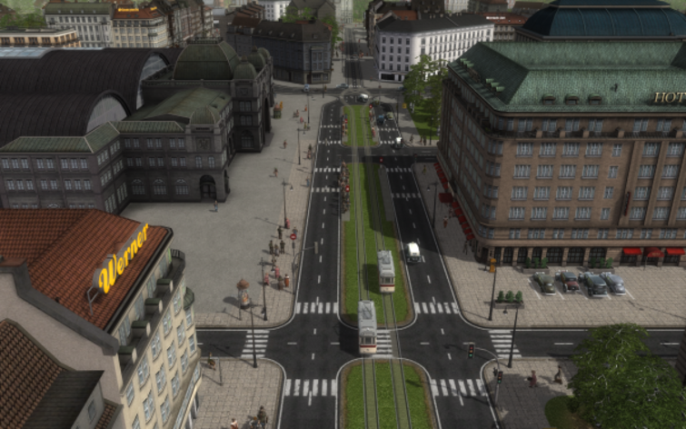 Screenshot 4 - Cities in Motion: German Cities