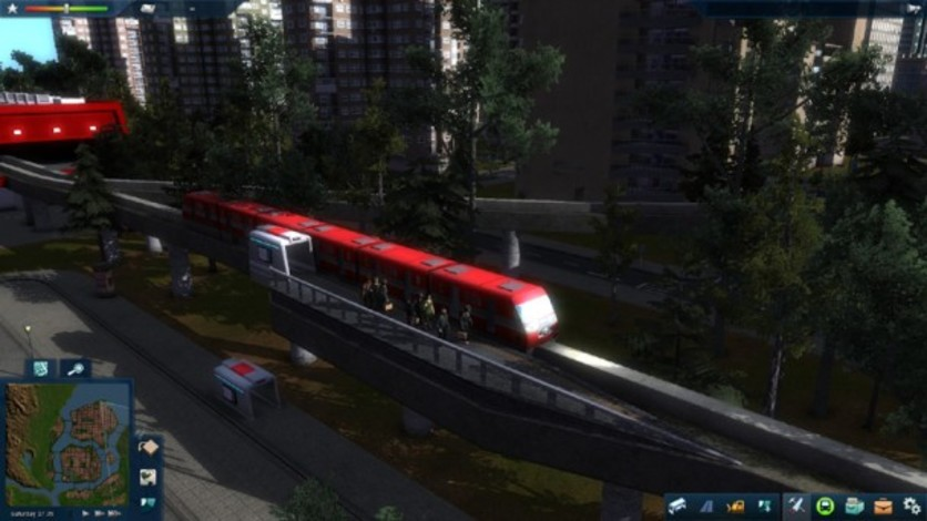 Screenshot 9 - Cities in Motion 2 - Marvellous Monorails
