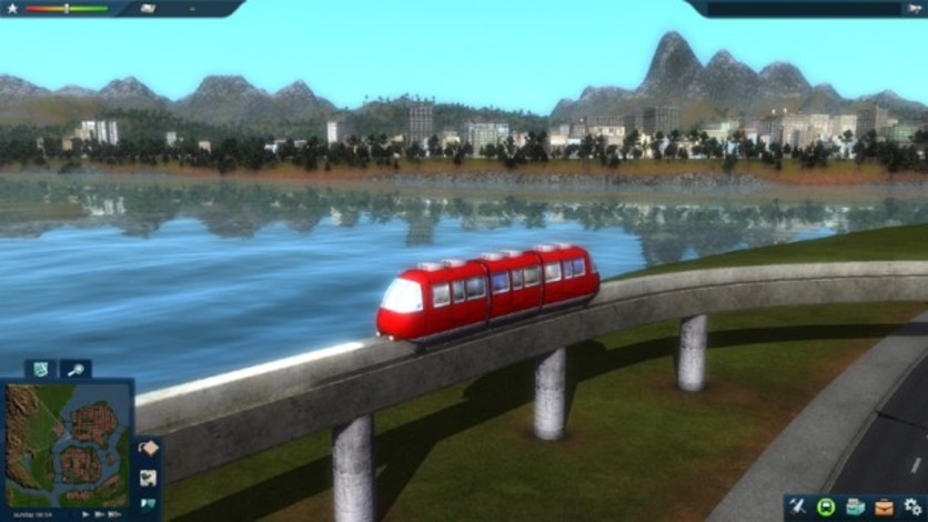 Screenshot 1 - Cities in Motion 2 - Marvellous Monorails
