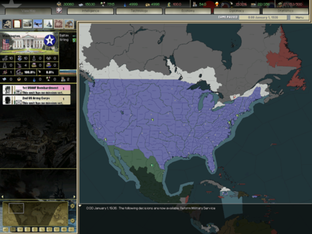 Screenshot 2 - Darkest Hour: A Hearts of Iron Game