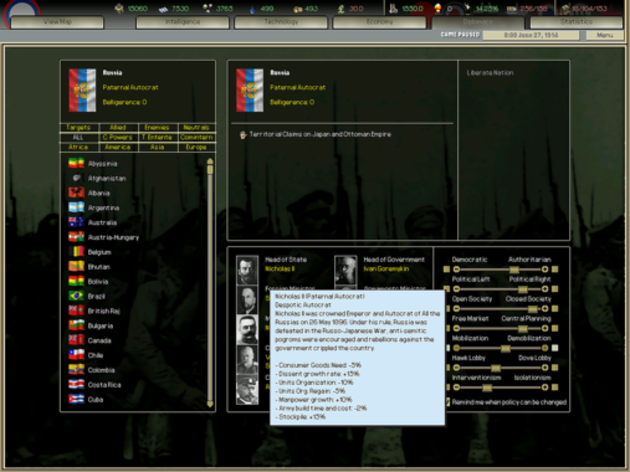 Screenshot 5 - Darkest Hour: A Hearts of Iron Game