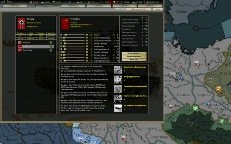 Screenshot 3 - Darkest Hour: A Hearts of Iron Game