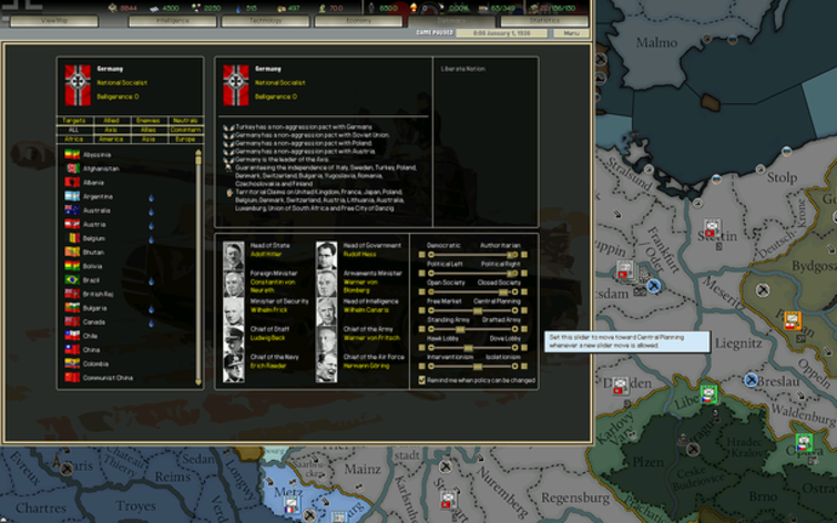 Screenshot 9 - Darkest Hour: A Hearts of Iron Game
