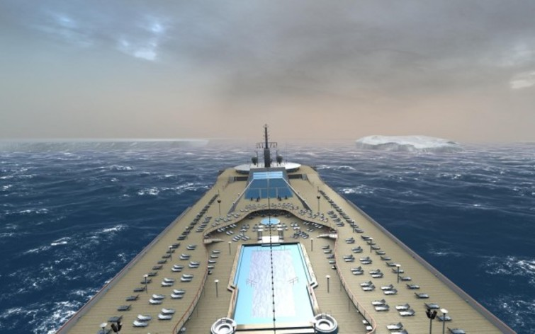 Screenshot 1 - Ship Simulator Extremes: Ocean Cruise Ship