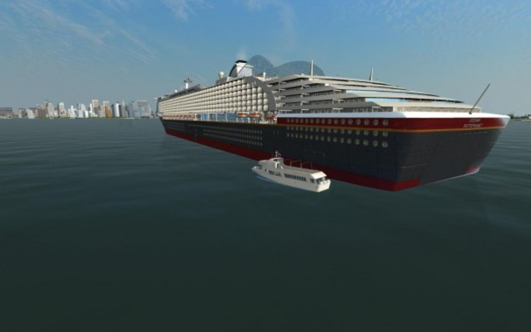 Screenshot 3 - Ship Simulator Extremes: Ocean Cruise Ship