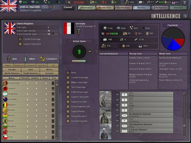 Screenshot 7 - Hearts of Iron 3