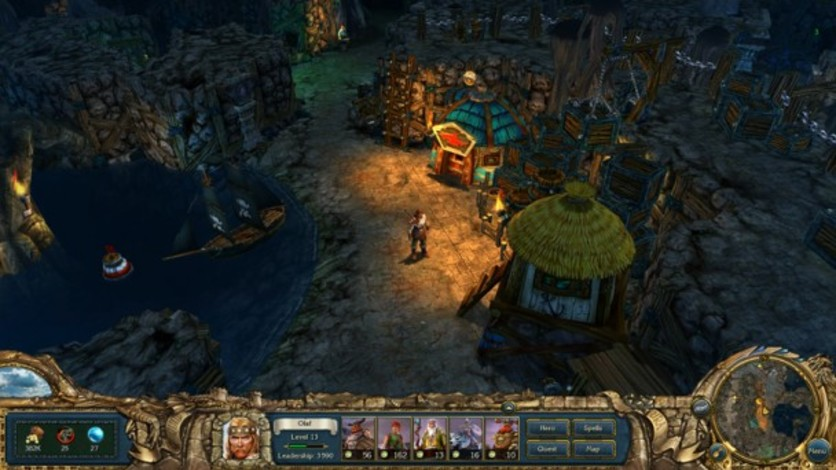 Screenshot 6 - King's Bounty:  Warriors of the North