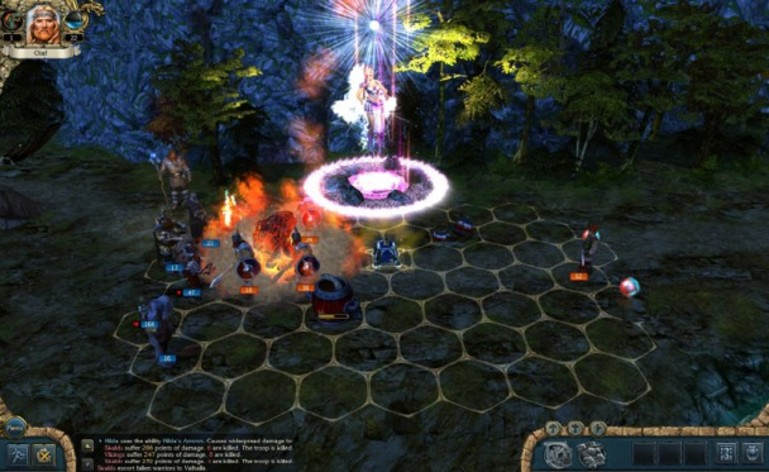 Screenshot 3 - King's Bounty:  Warriors of the North