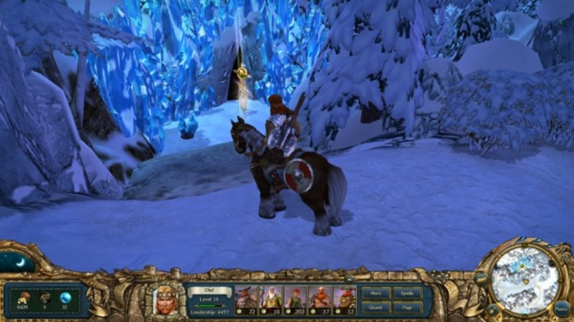 Screenshot 5 - King's Bounty:  Warriors of the North