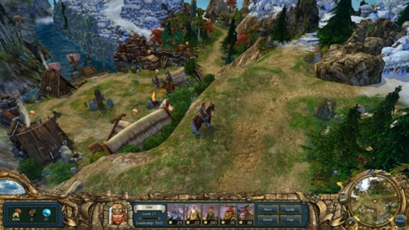 Screenshot 2 - King's Bounty:  Warriors of the North