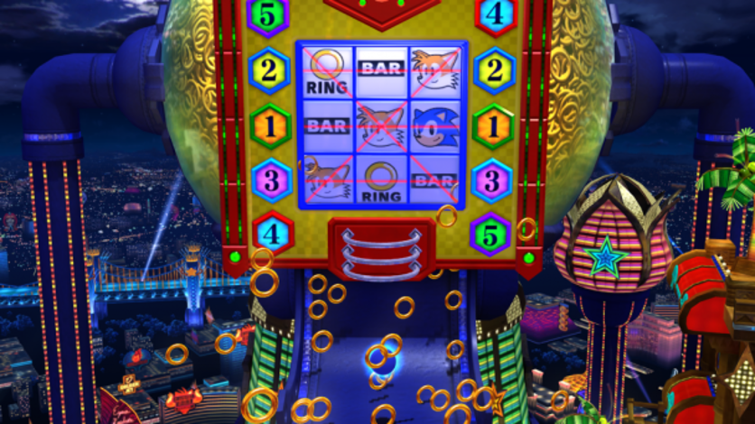 Screenshot 2 - Sonic Generations Casino Night