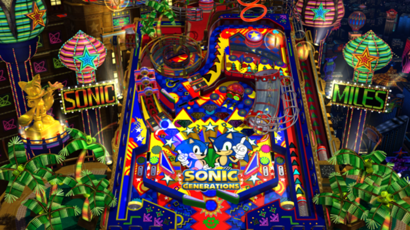 Screenshot 1 - Sonic Generations Casino Night