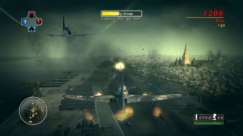 Screenshot 4 - Blazing Angels 2: Secret Missions of WWII