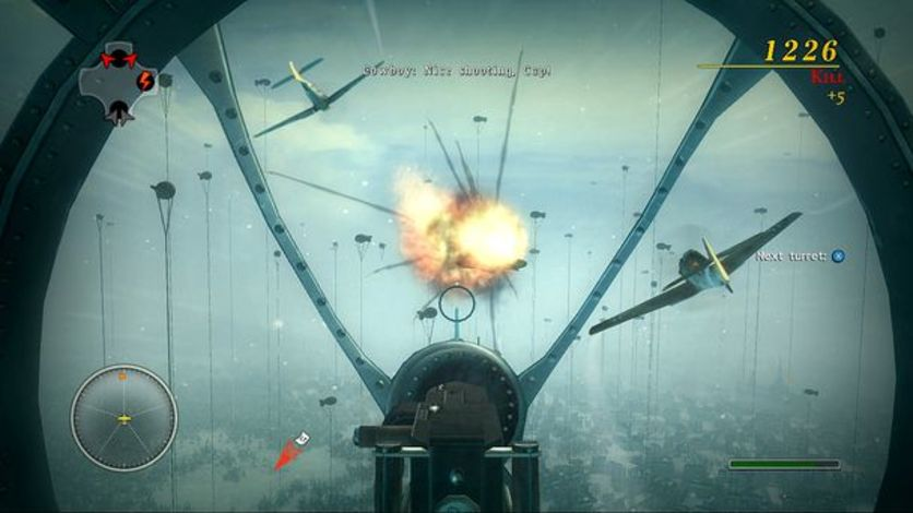 Screenshot 3 - Blazing Angels 2: Secret Missions of WWII