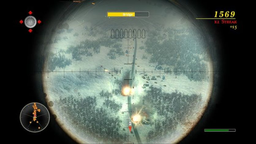 Screenshot 2 - Blazing Angels 2: Secret Missions of WWII