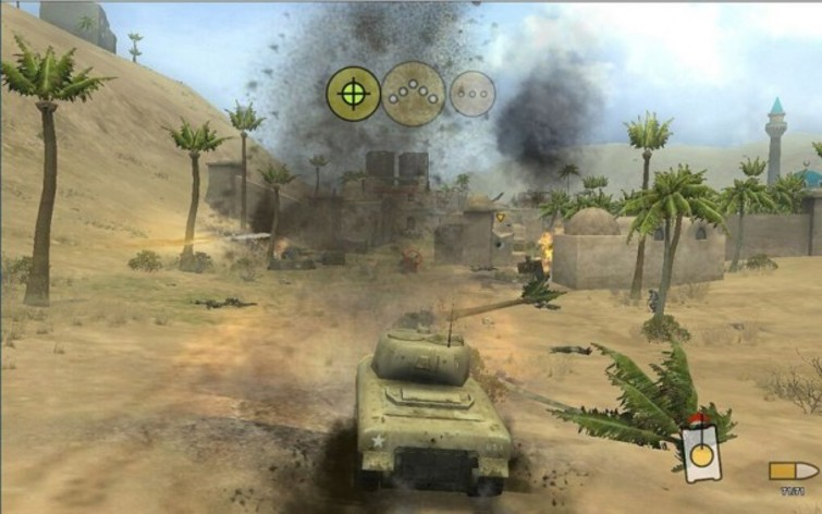 Screenshot 4 - Panzer Elite Action - Dunes of War