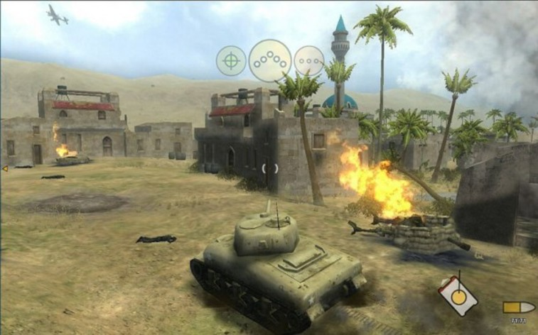Screenshot 2 - Panzer Elite Action - Dunes of War