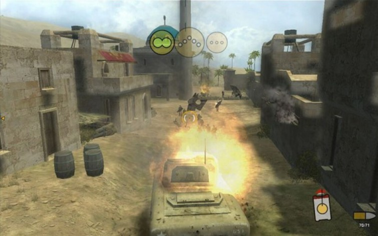 Screenshot 1 - Panzer Elite Action - Dunes of War