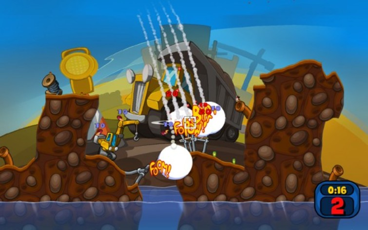 Screenshot 3 - Worms Reloaded