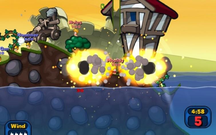 Screenshot 2 - Worms Reloaded