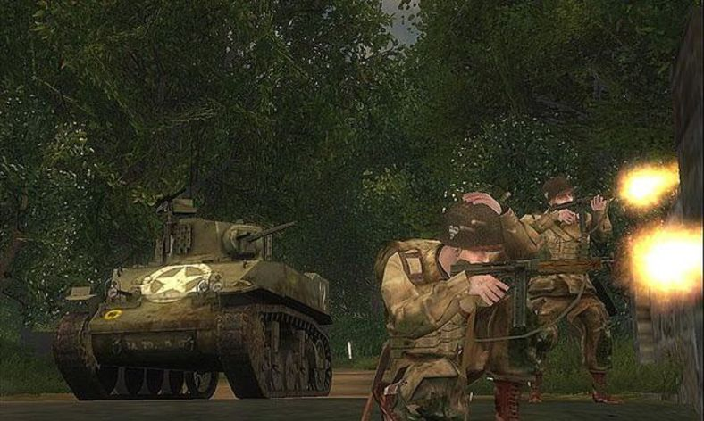 Screenshot 1 - Brothers in Arms Road to Hill 30