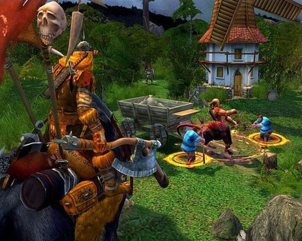 Screenshot 2 - Heroes of Might and Magic V: Tribes of the East