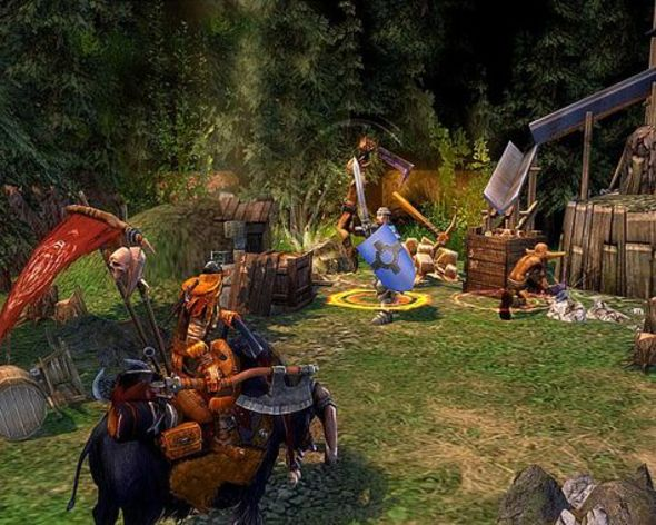Screenshot 1 - Heroes of Might and Magic V: Tribes of the East