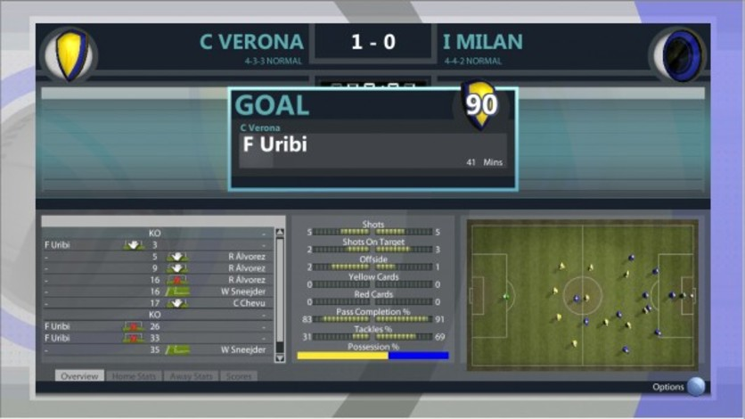 Screenshot 5 - Premier Manager 2012
