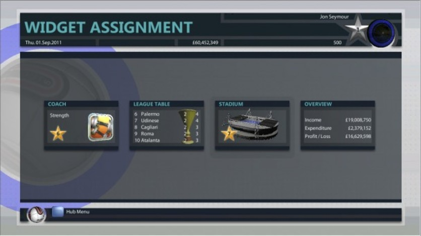 Screenshot 3 - Premier Manager 2012
