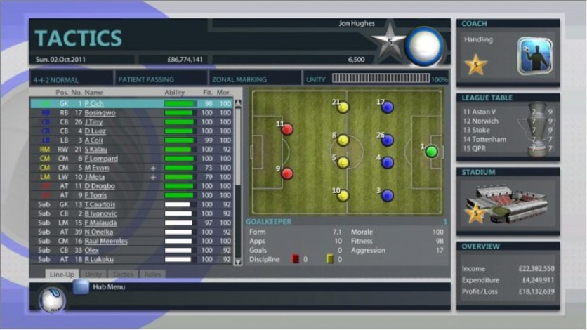 Screenshot 9 - Premier Manager 2012