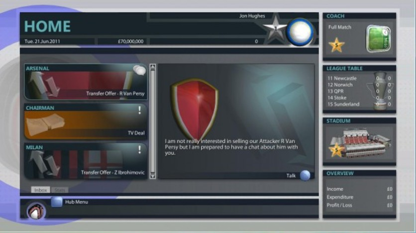 Screenshot 8 - Premier Manager 2012