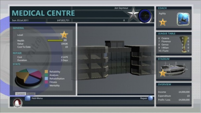 Screenshot 2 - Premier Manager 2012
