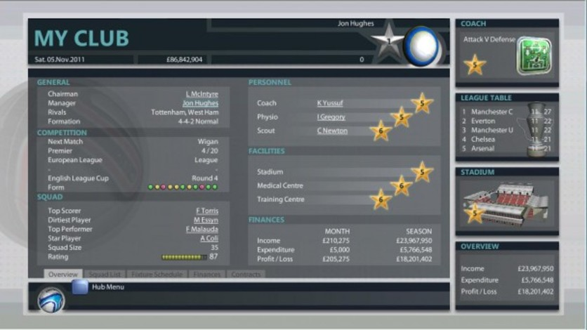 Screenshot 11 - Premier Manager 2012