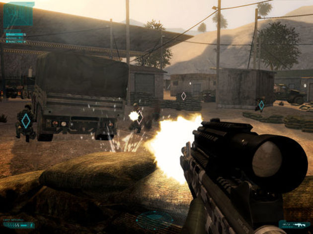 Screenshot 6 - Tom Clancy's Ghost Recon Advanced Warfighter 2