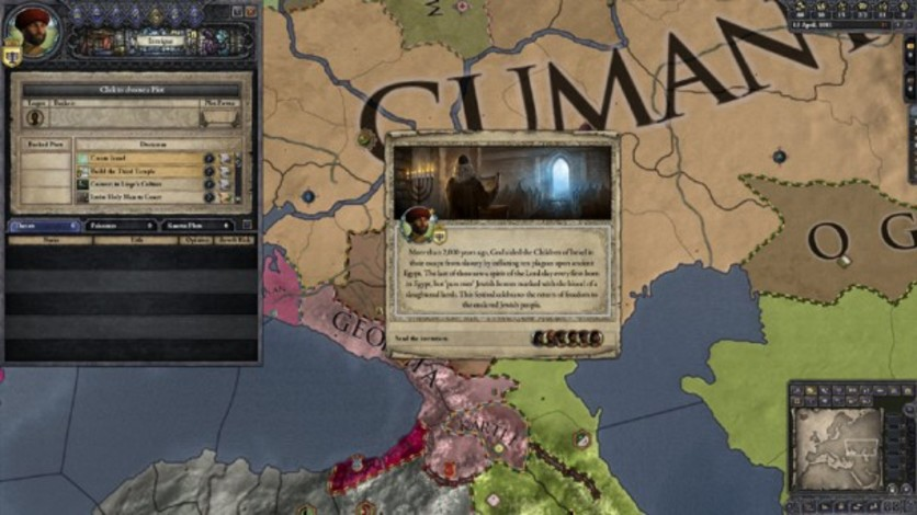 Screenshot 3 - Crusader Kings II: Sons Of Abraham Expansion